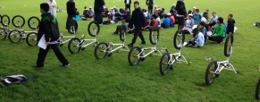 STARS Europe group hosts cycling event at the park