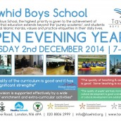 OPEN DAY AT TAWHID 2nd DEC 2014