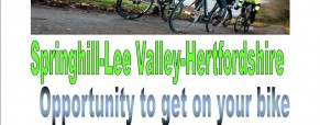 father and son event cycling and hiking May 2015