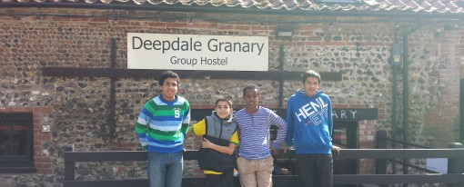 Cycling trip to Deepdale