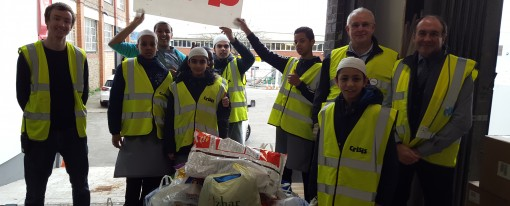 Pupils Donations Well Received