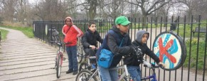 Father and Son Cycling and Trekking Event a Success