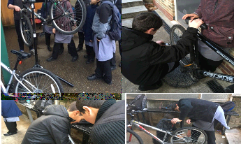 YTA Take Part in Cycle Maintenance Sessions