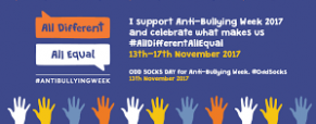 TBS PUPILS RAISE AWARENESS ABOUT ANTI BULLYING WEEK!